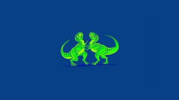 Minimalist Dinosaur Wallpaper Download