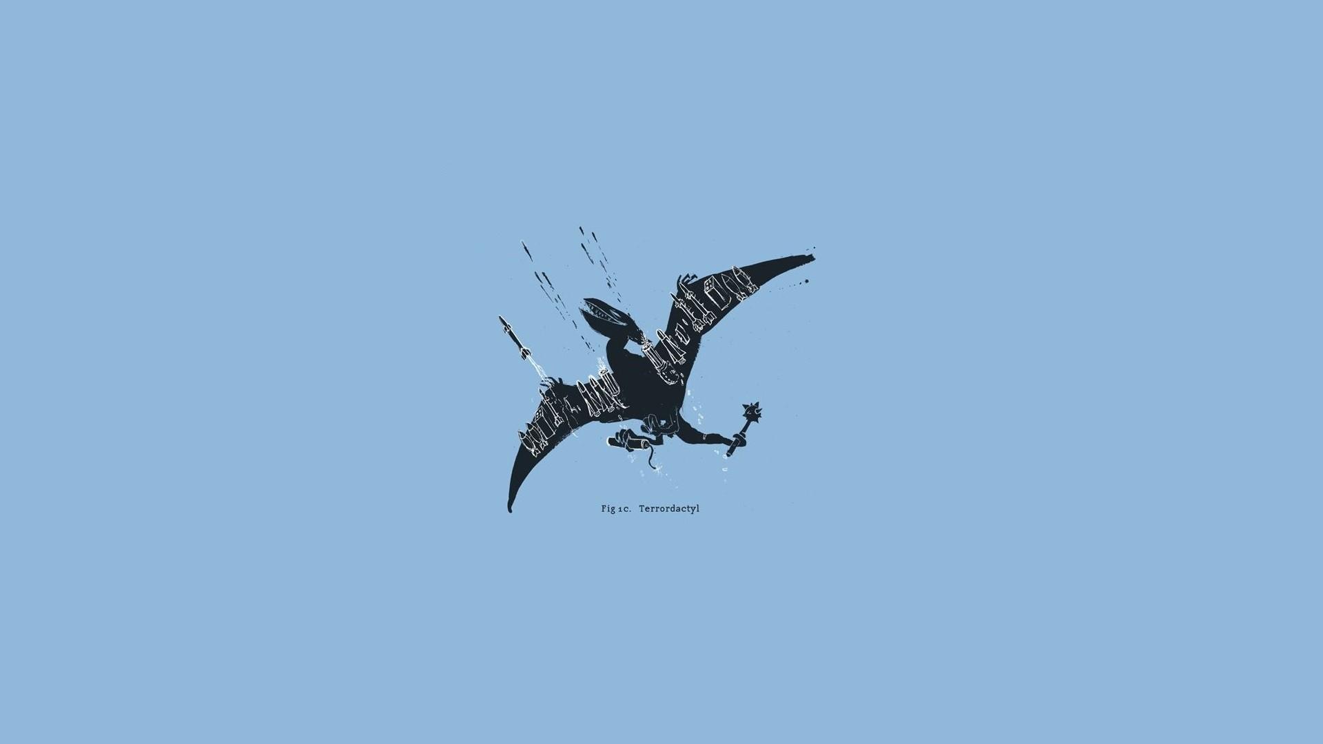 Minimalist Dinosaur Wallpaper Free Download