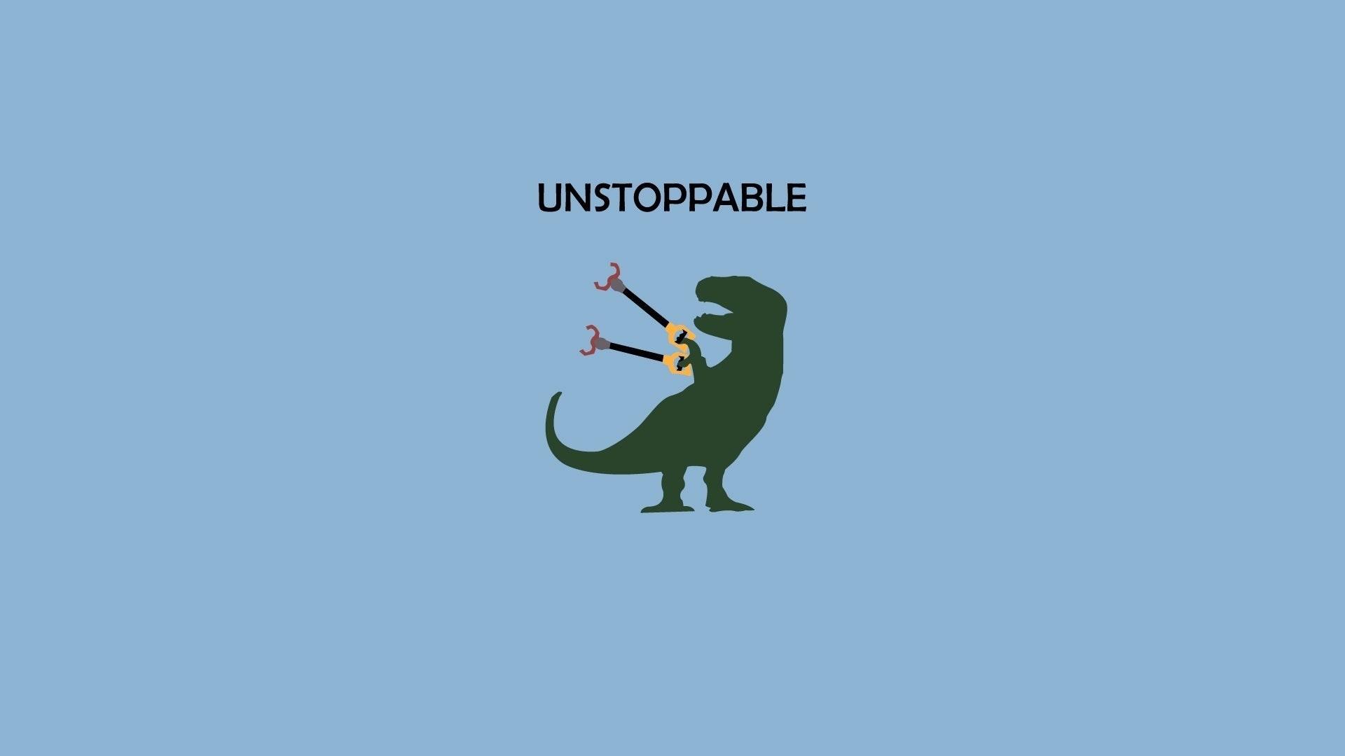 Minimalist Dinosaur Wallpaper Image