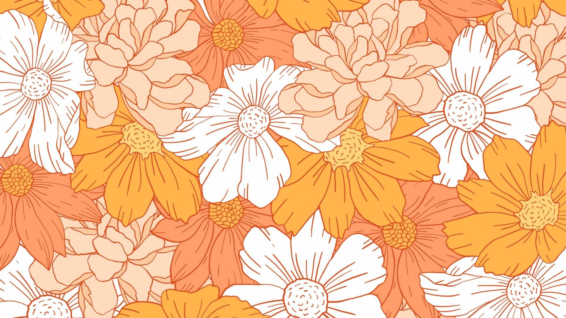 Orange Aesthetic Wallpaper Free