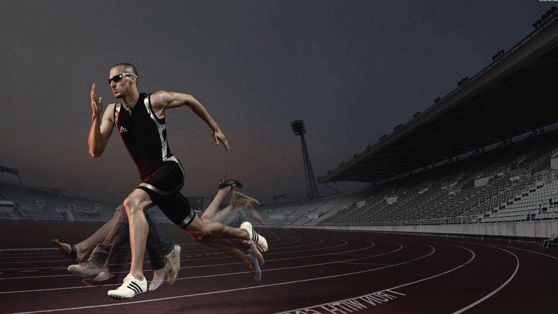 Running Wallpaper Image