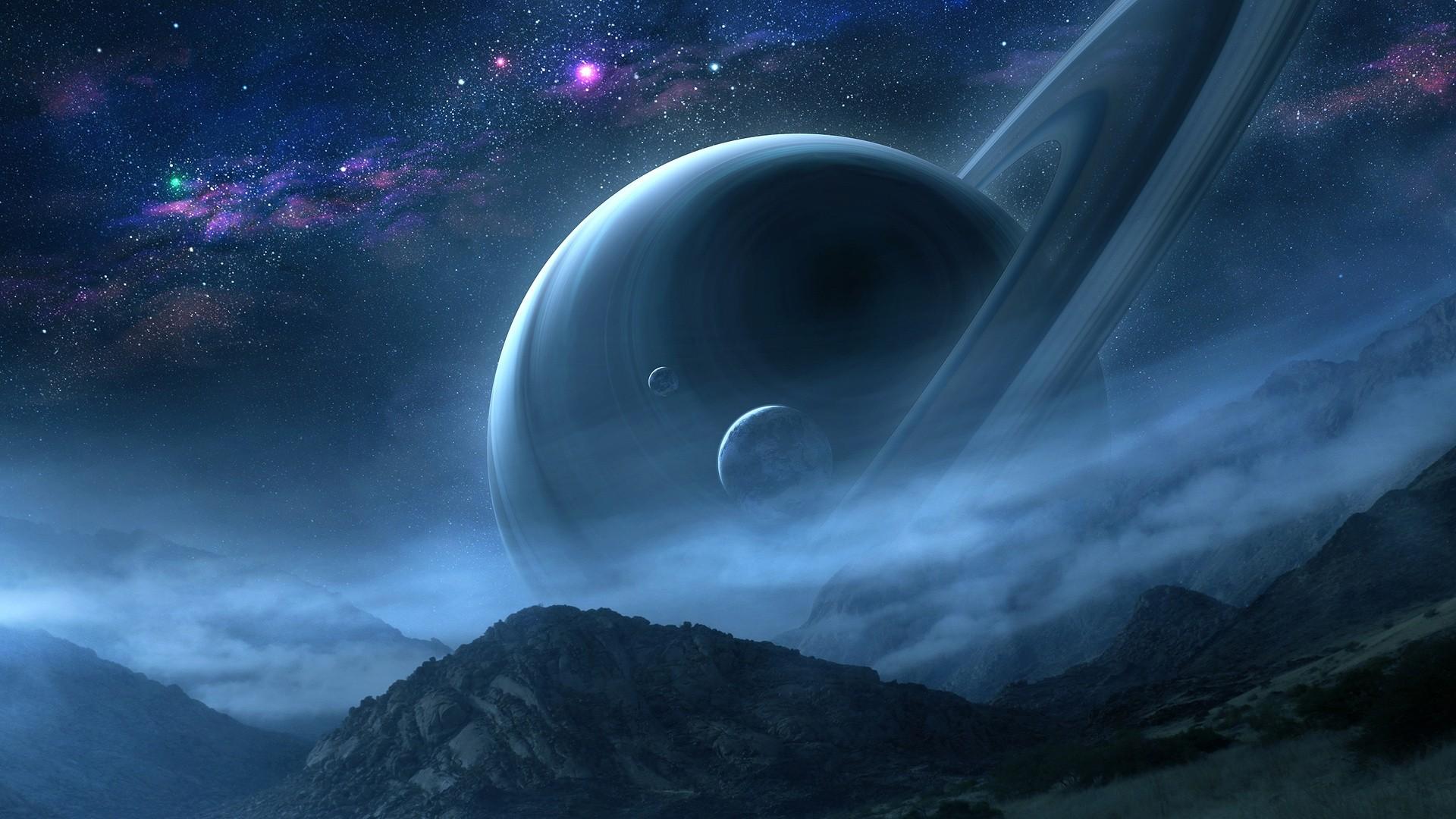 Saturn full hd wallpaper