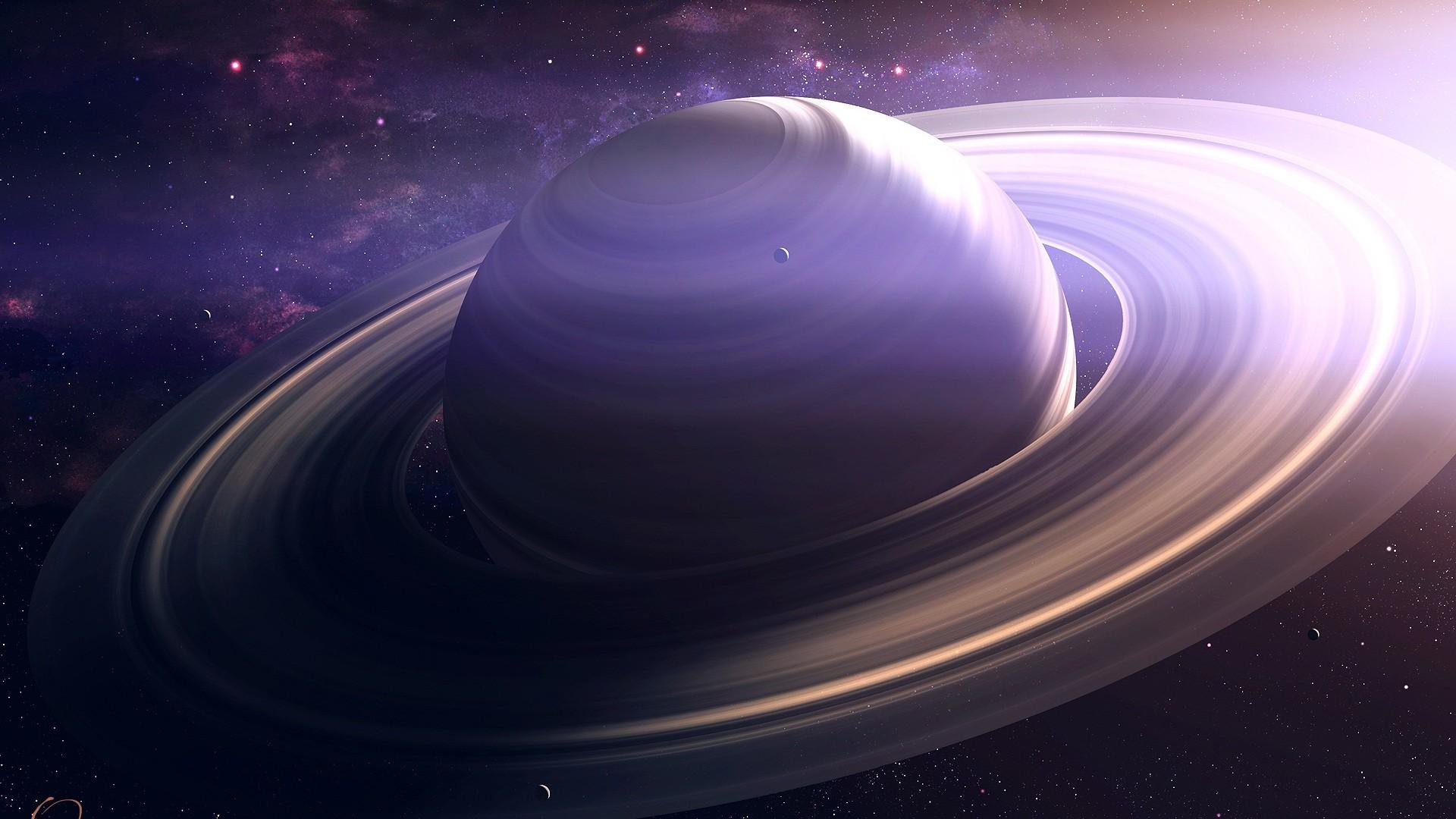 Saturn wallpaper theme