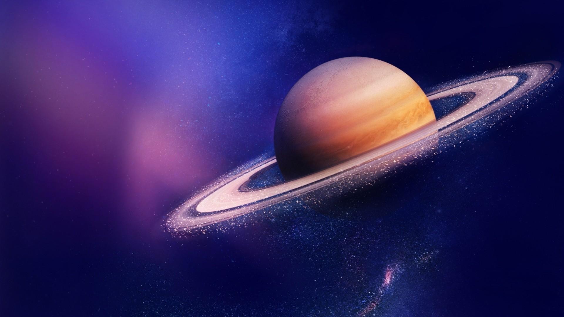 Saturn PC Wallpaper