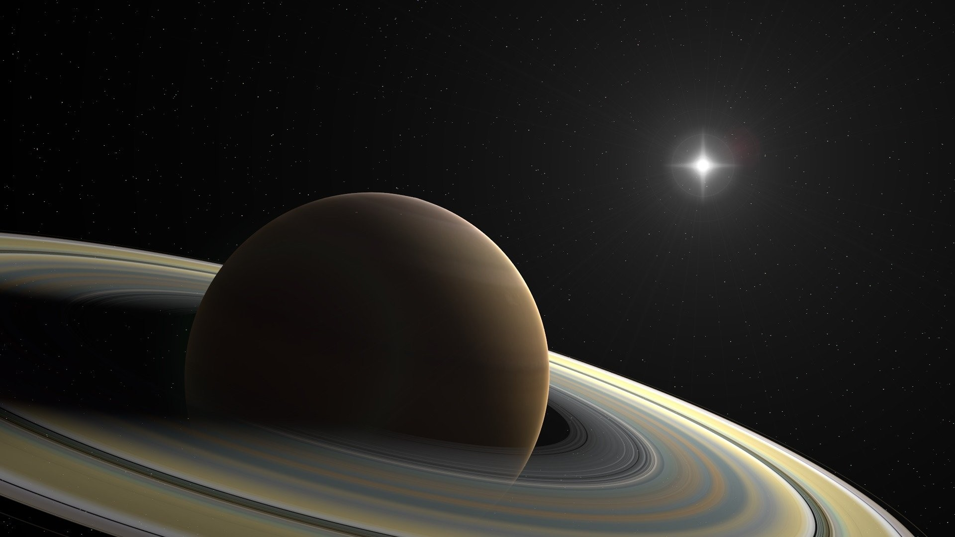 Saturn a Wallpaper