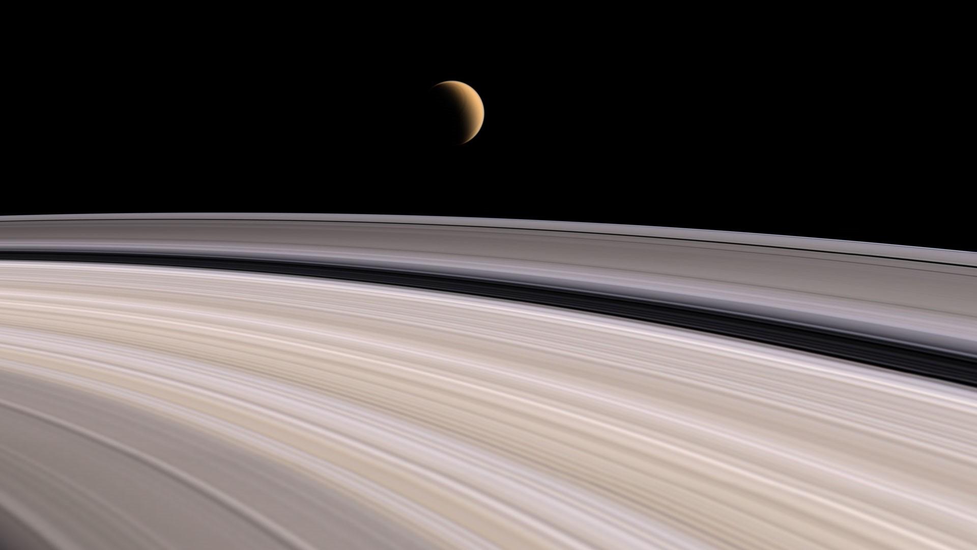 Saturn full wallpaper