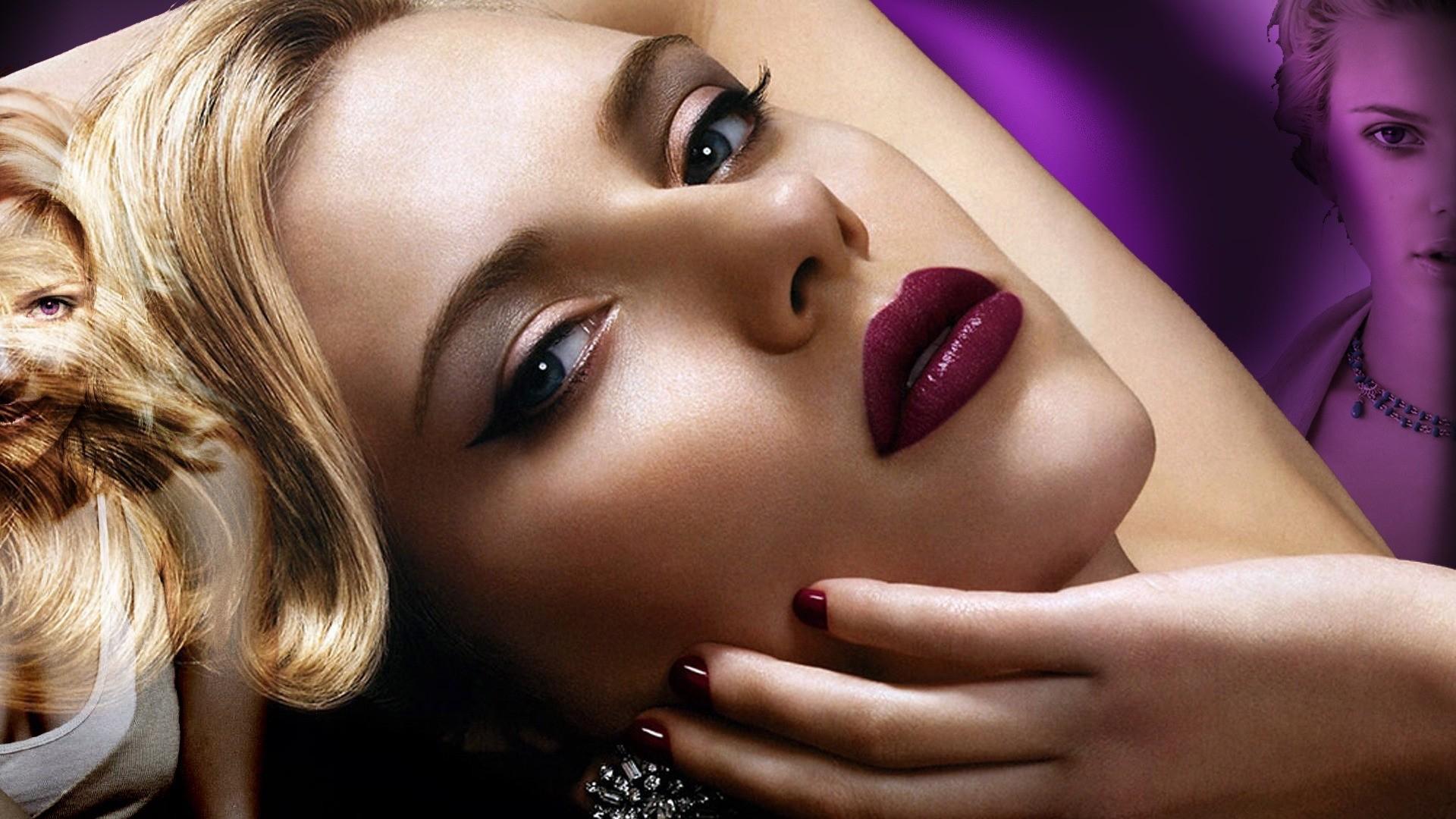 Scarlett Johansson full wallpaper