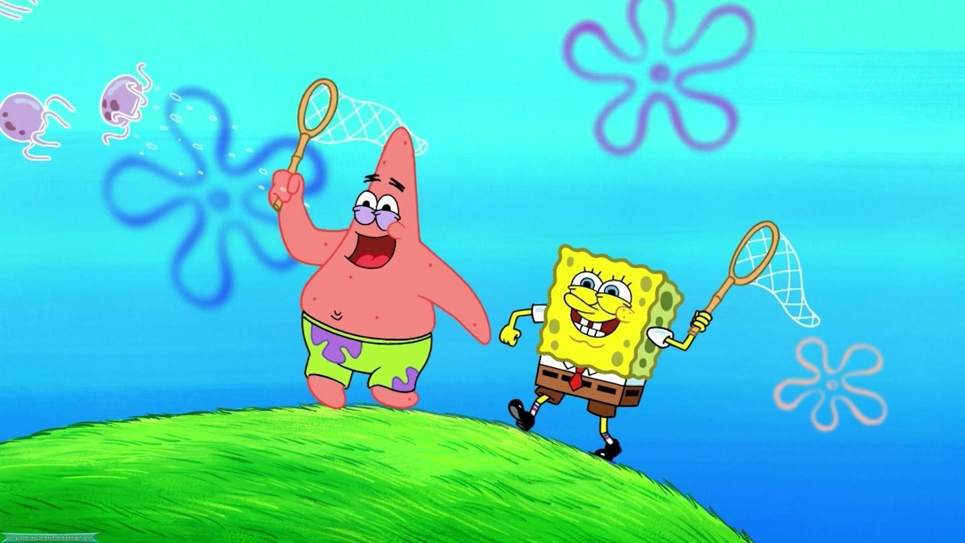 Spongebob And Patrick Wallpaper 1920x1080