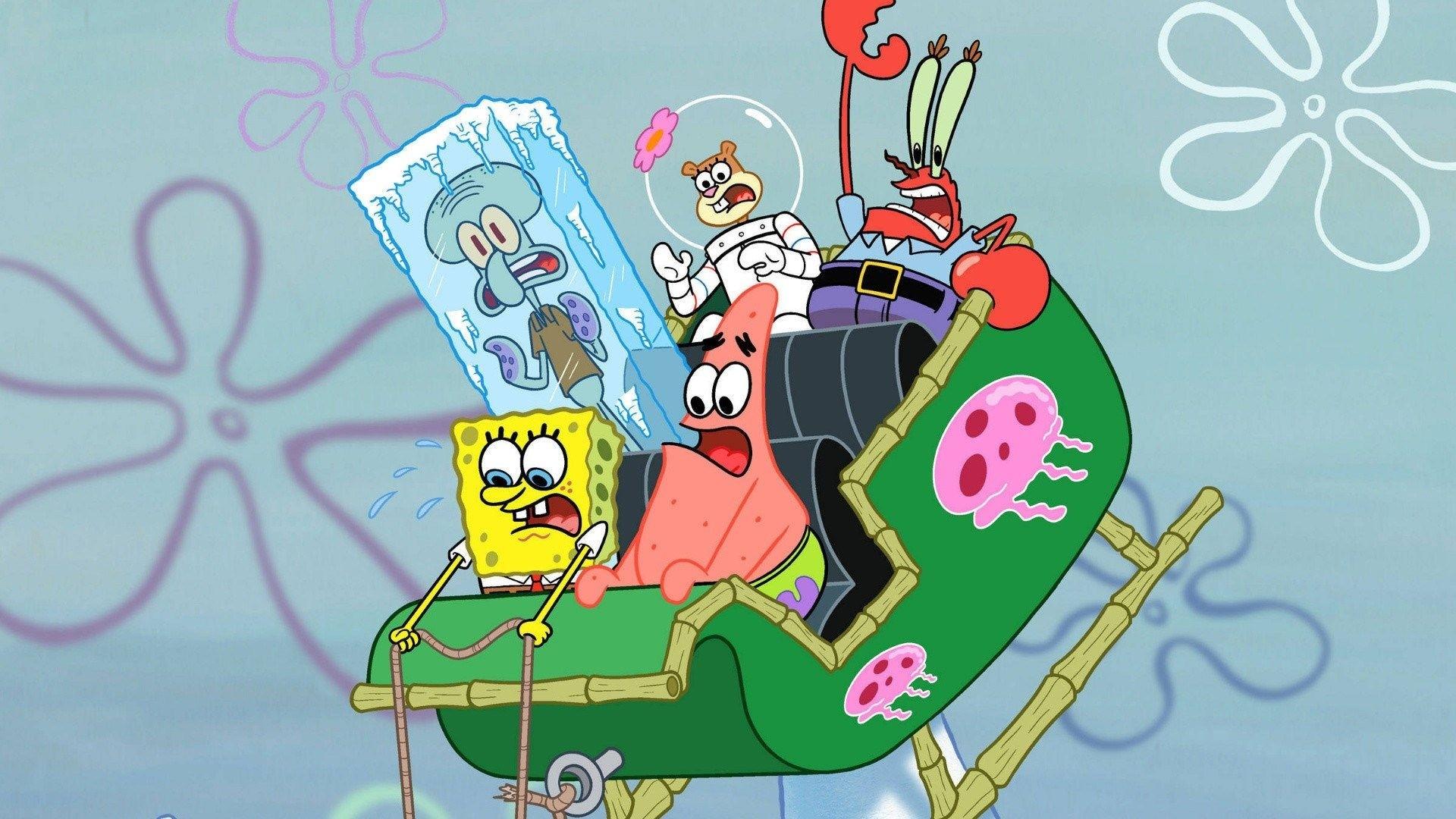 Spongebob And Patrick Wallpaper Download