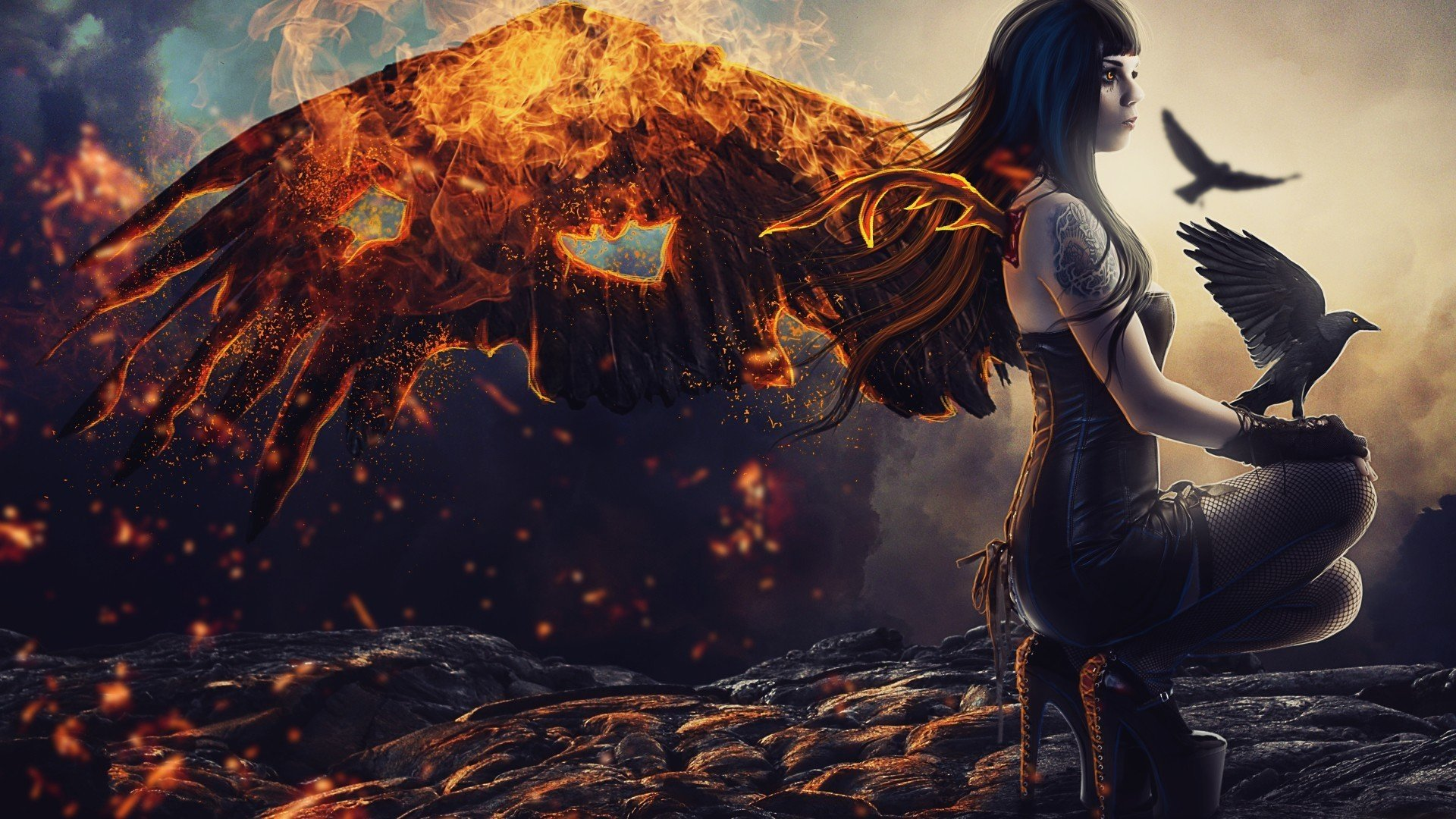Wings Of Fire Wallpaper Free Download