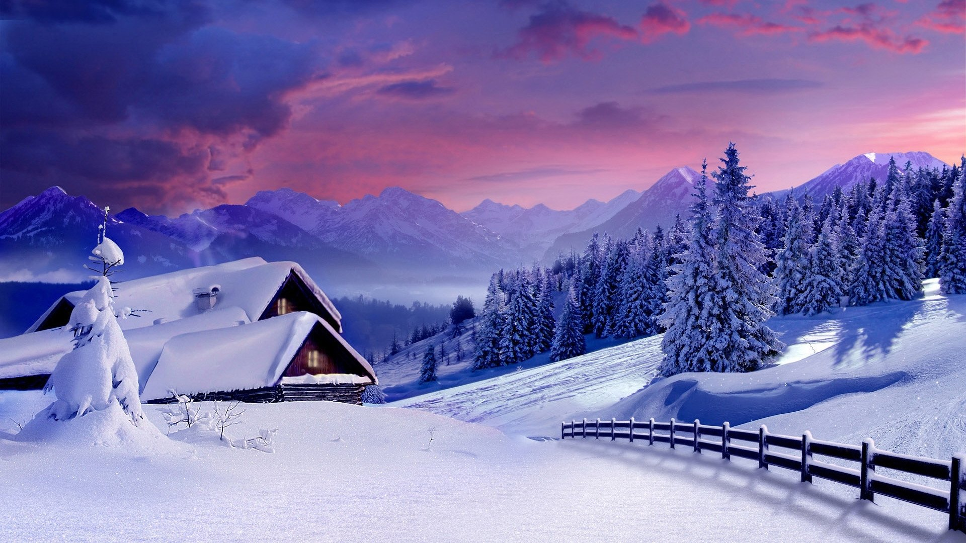 Winter Aesthetic Wallpaper Desktop