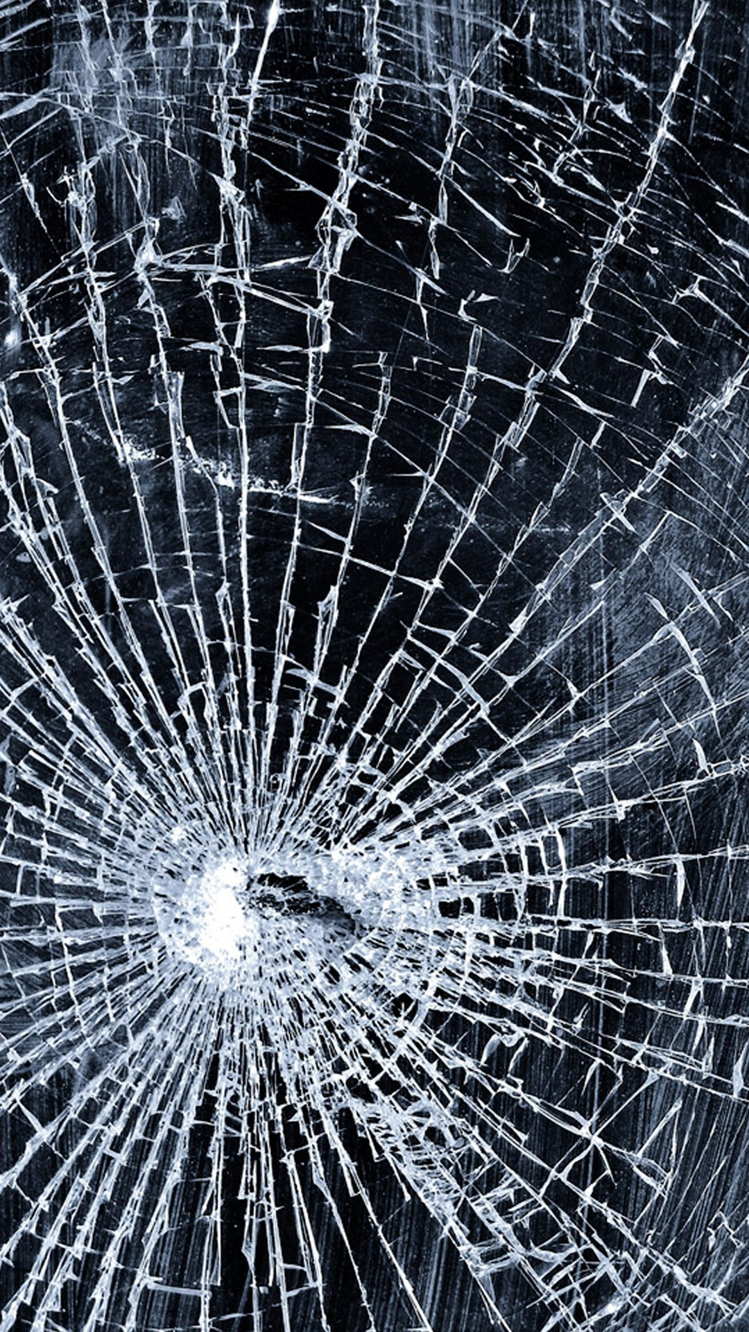 Cracked Screen iPhone 6 wallpaper