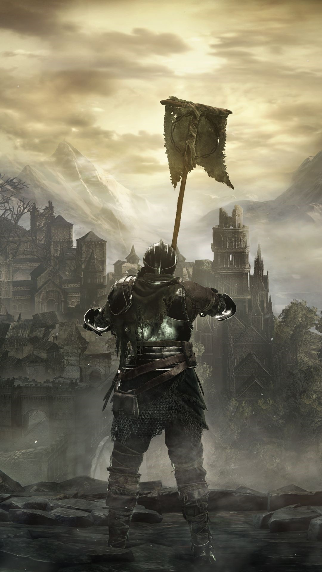 Dark Souls iPhone 5 wallpaper