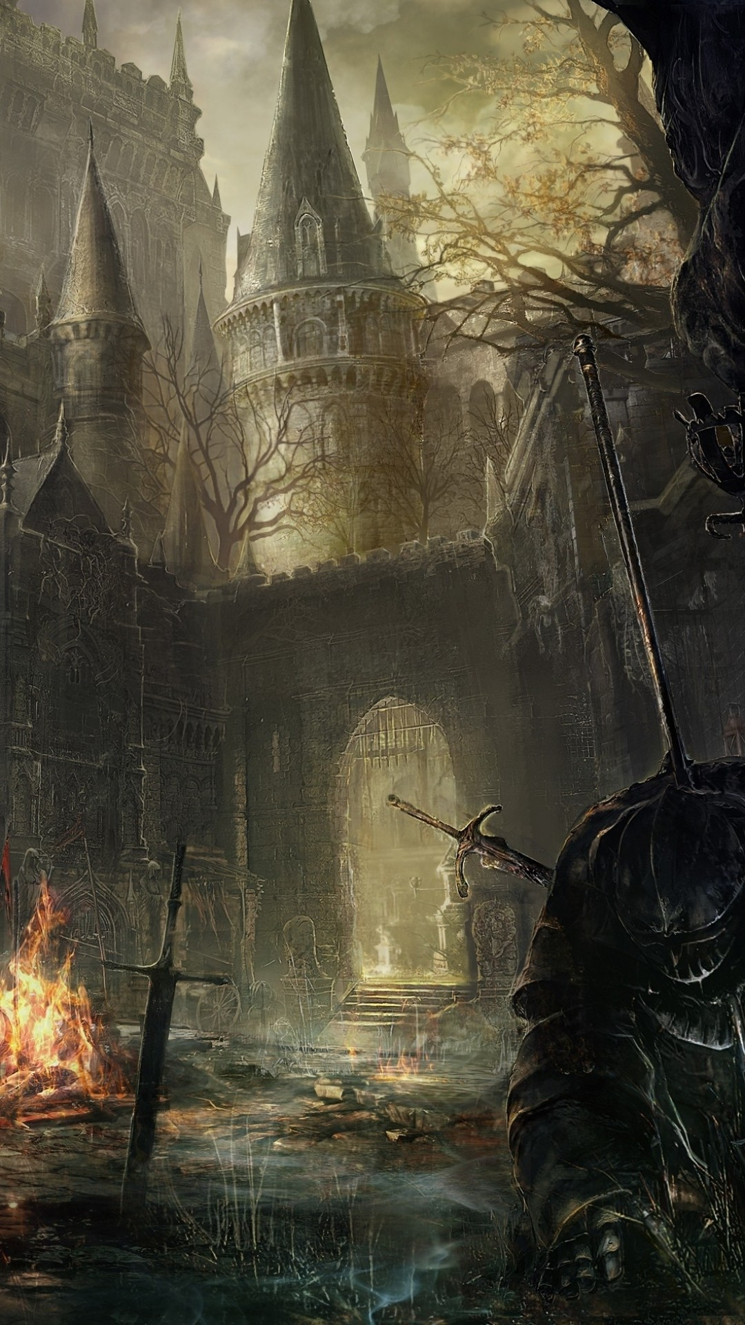 Dark Souls iPhone 6 wallpaper