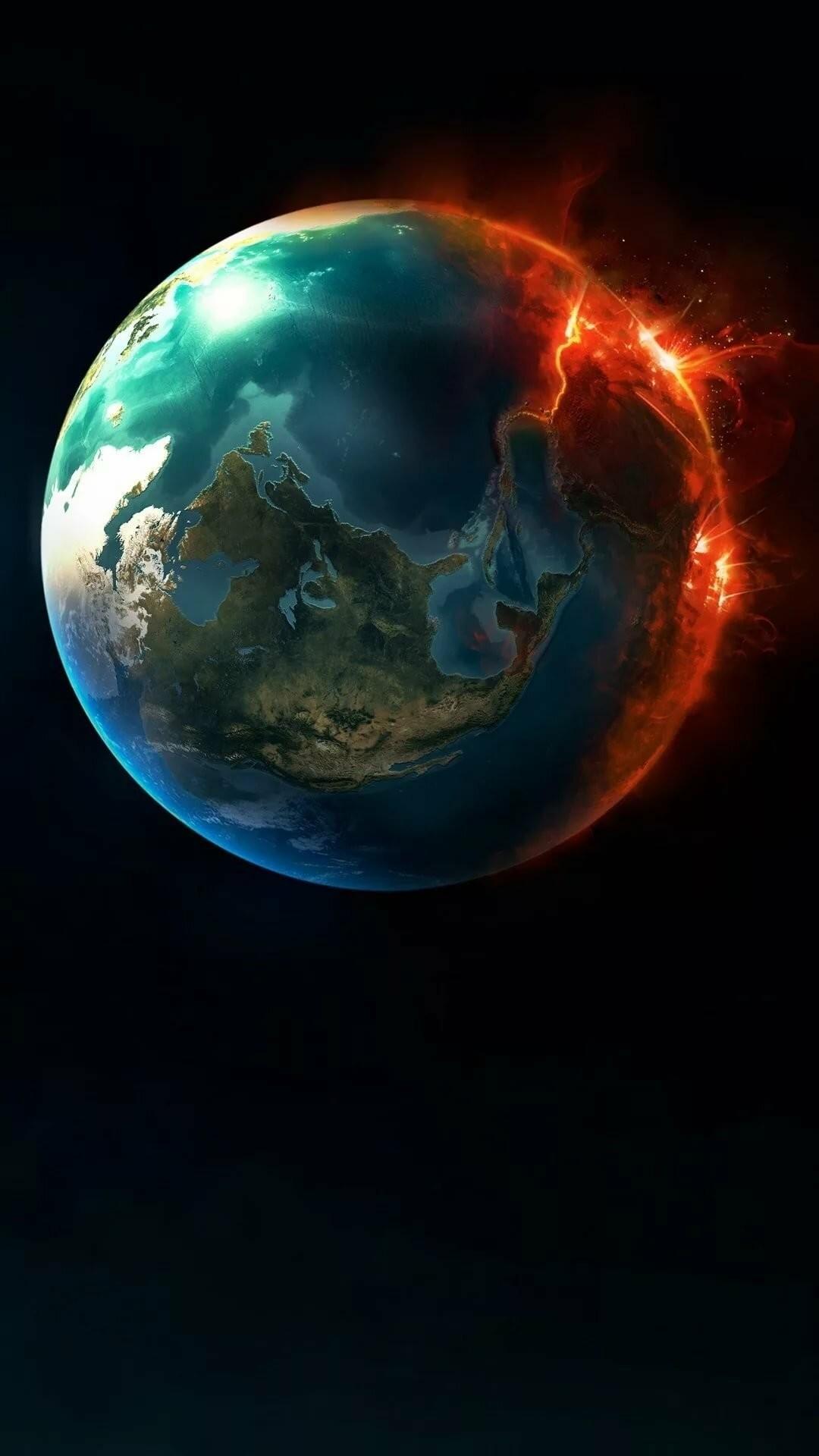 Earth iPhone 5 wallpaper