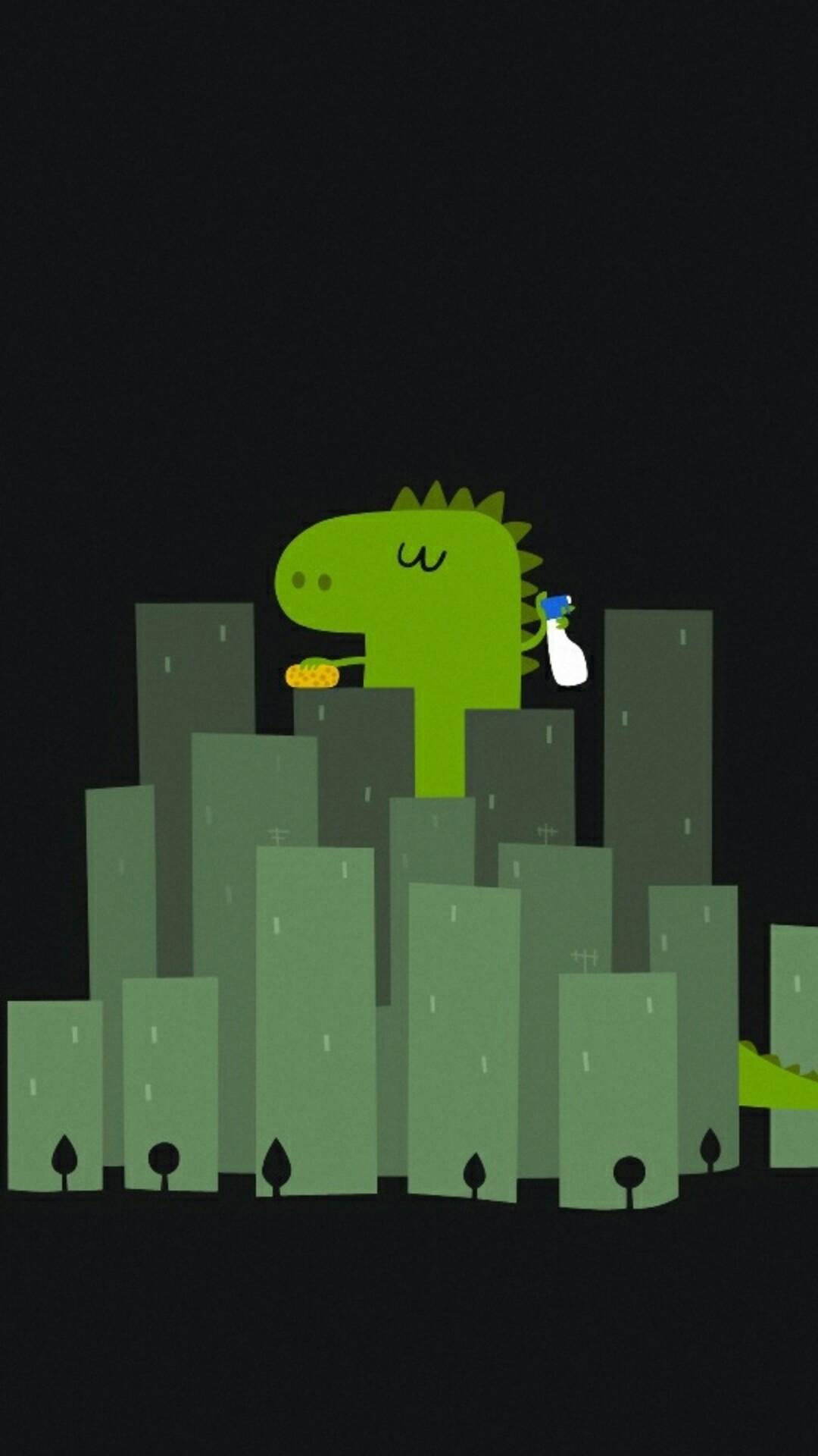 Godzilla iPhone 6 wallpaper