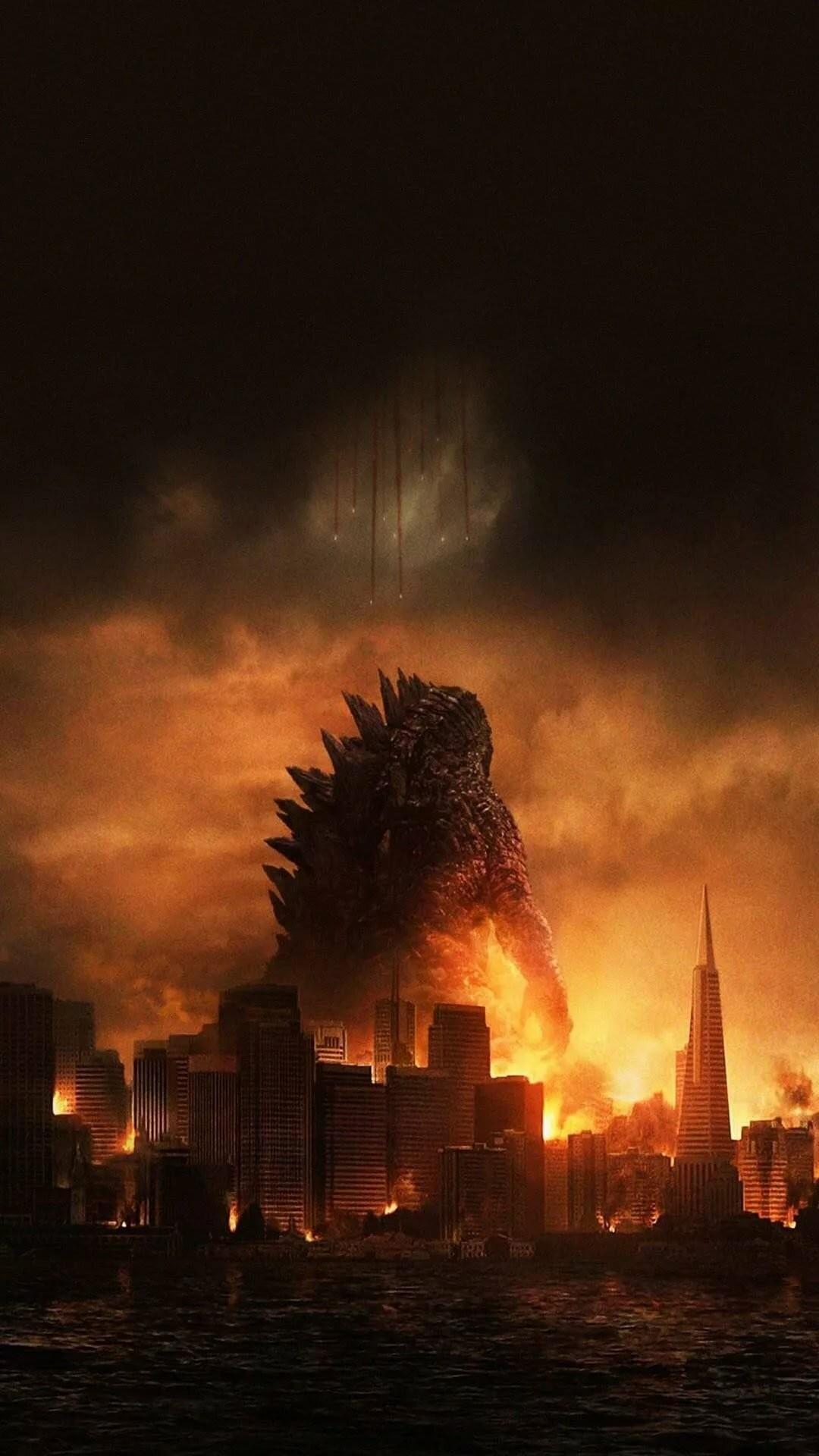 Godzilla iPhone 7 wallpaper