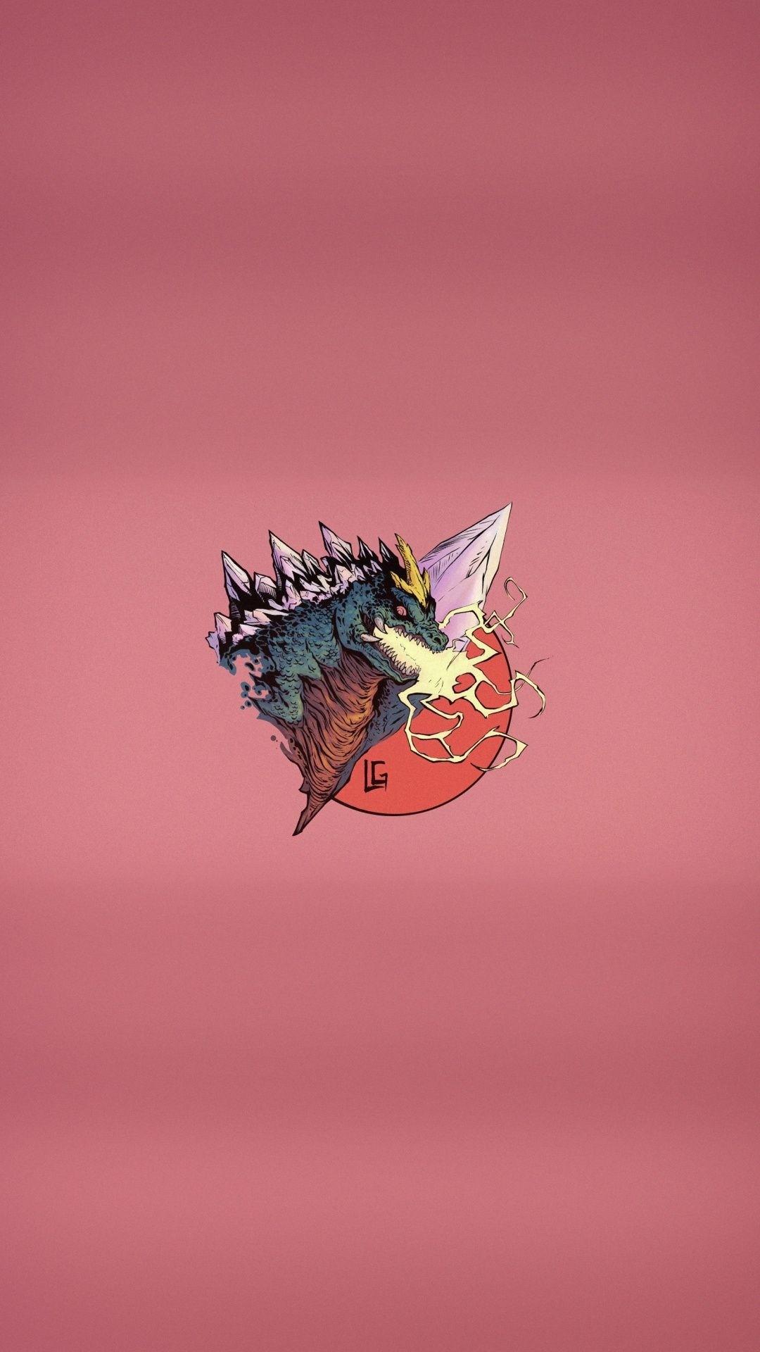 Godzilla iPhone hd wallpaper