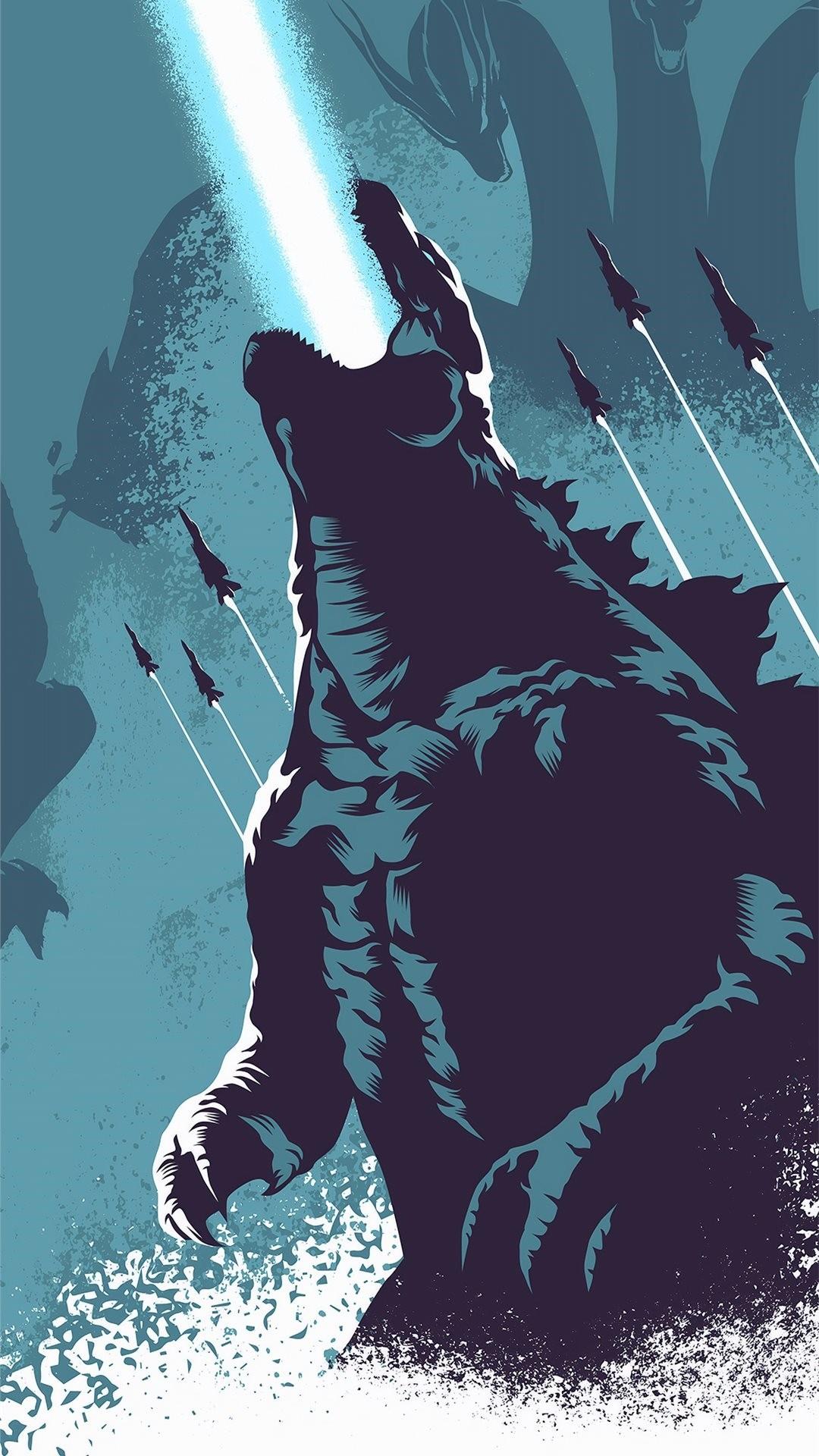 Godzilla iPhone wallpaper