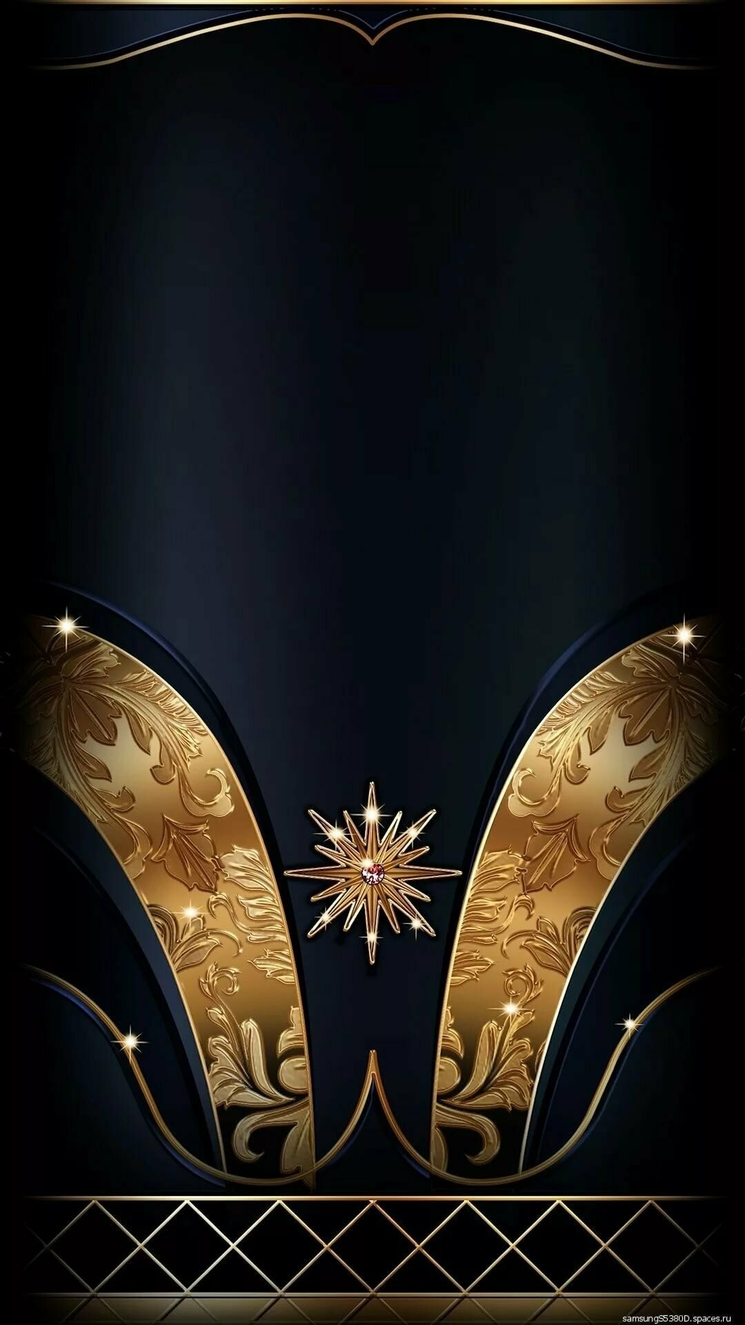 Gold phone wallpaper