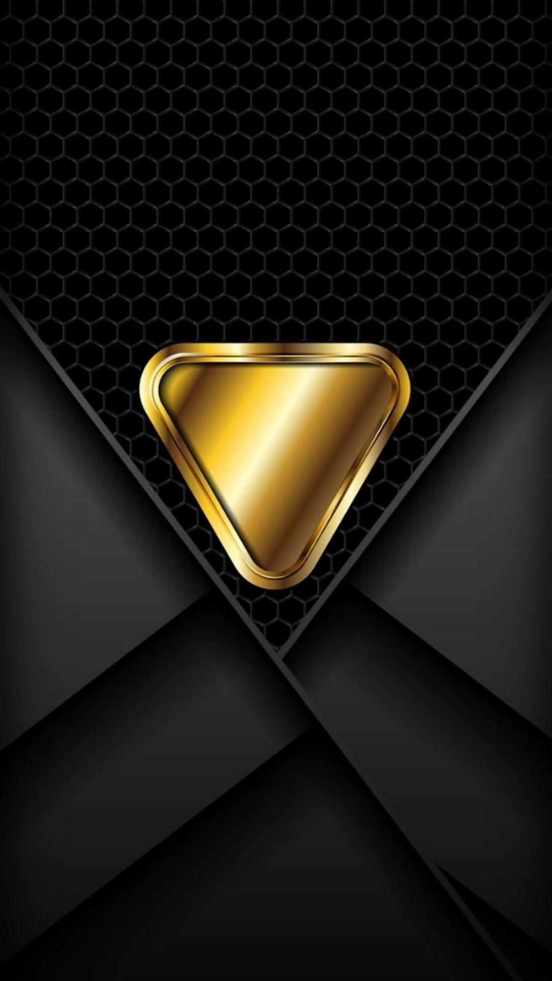 Gold iPhone 5 wallpaper