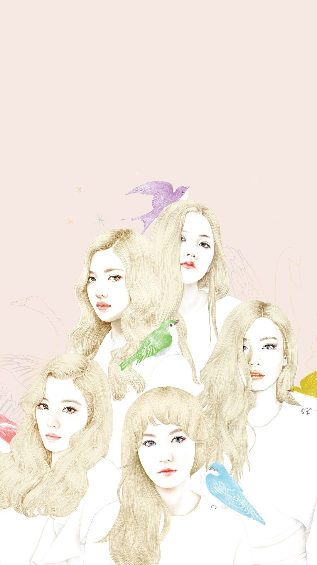 Kpop phone wallpaper