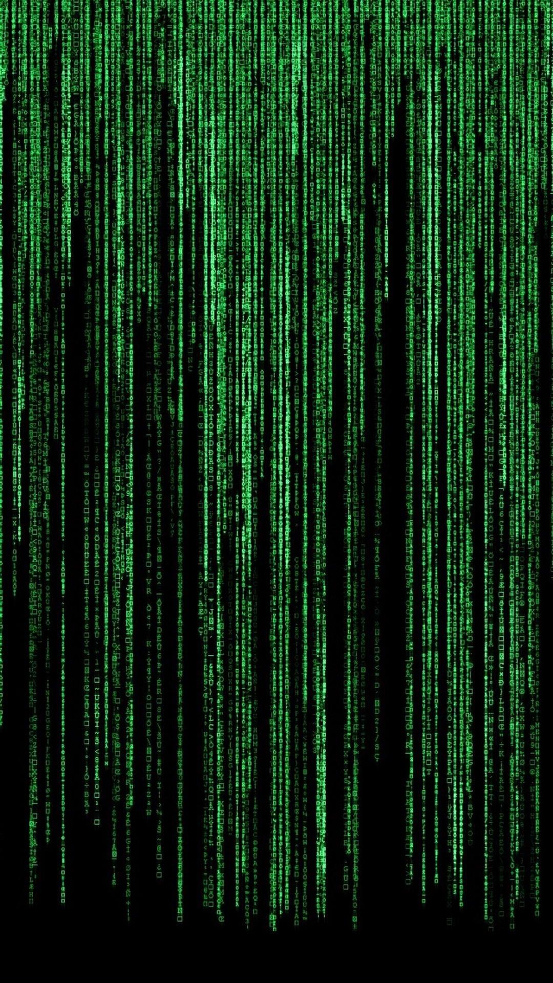 Matrix wallpaper for iPhone