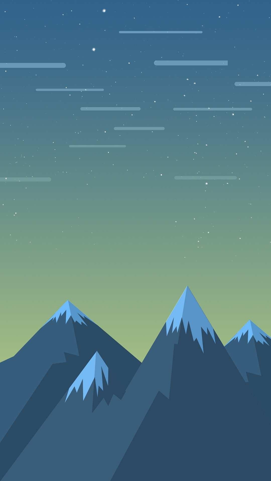 Minimalist iPhone hd wallpaper