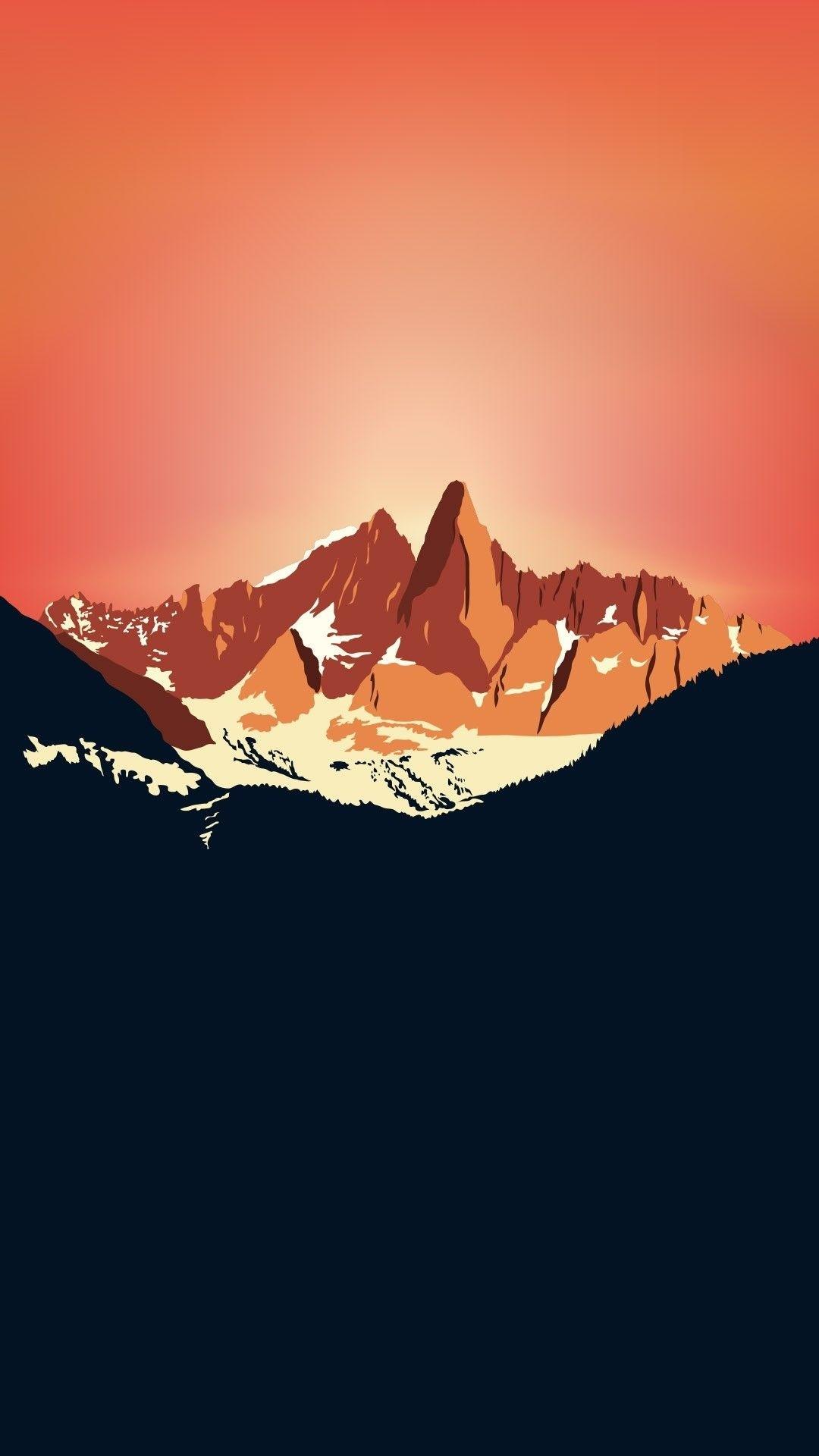 Minimalist iPhone 6 wallpaper