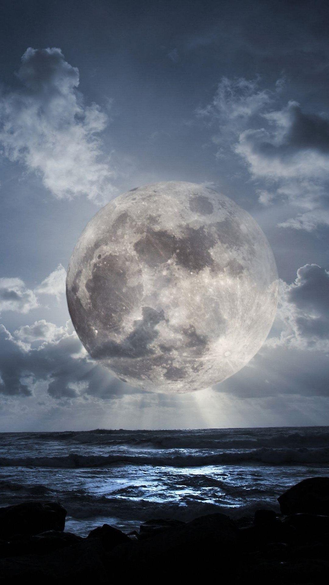 Moon iPhone 6 wallpaper
