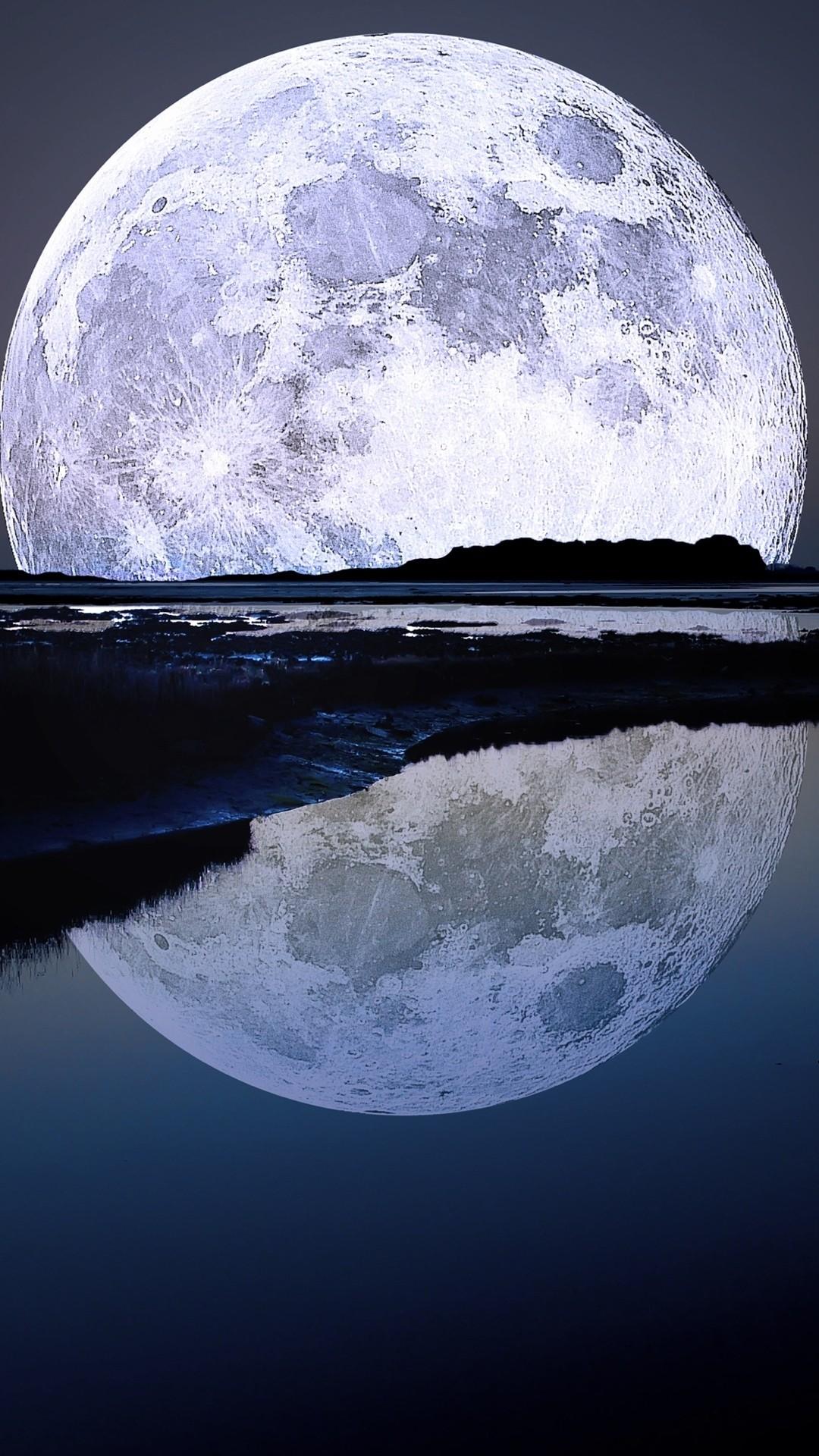 Moon iPhone 7 wallpaper