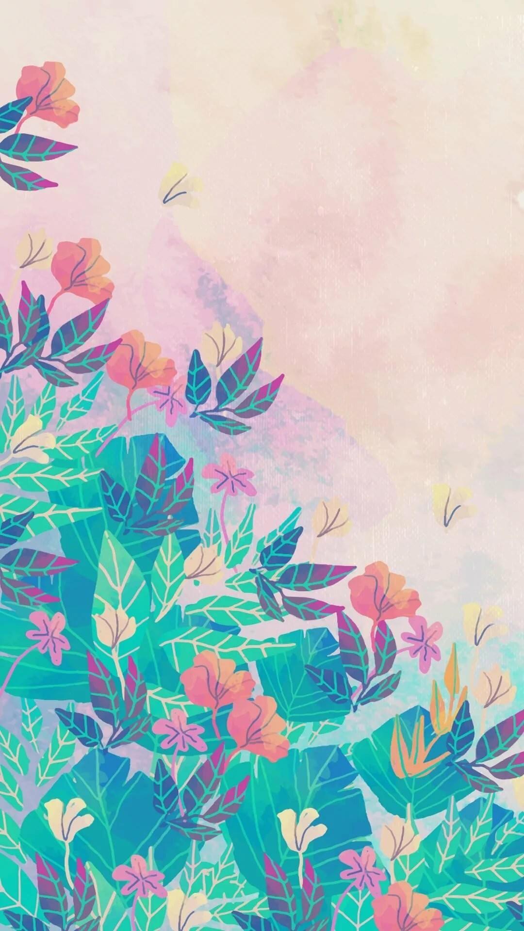 Pastel iPhone 6 wallpaper
