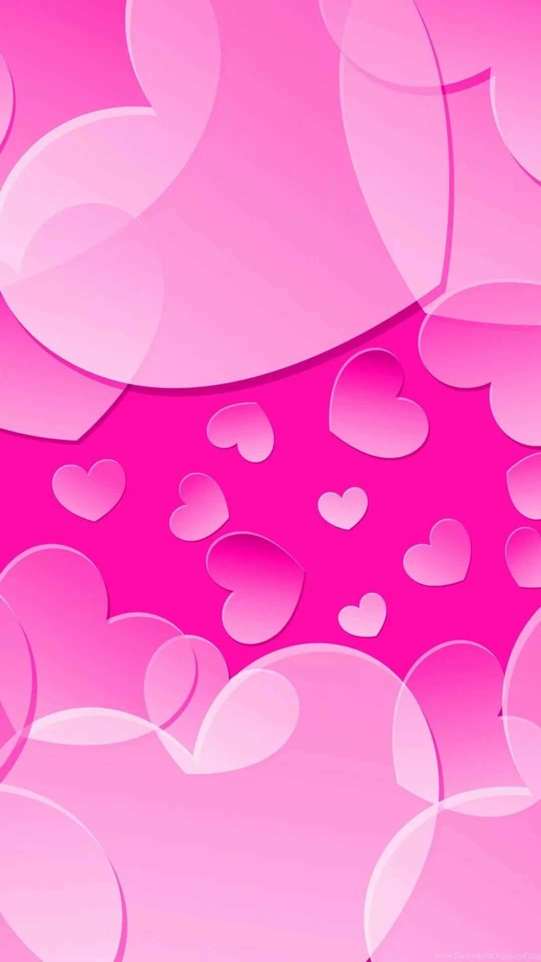 Pink iPhone 7 wallpaper