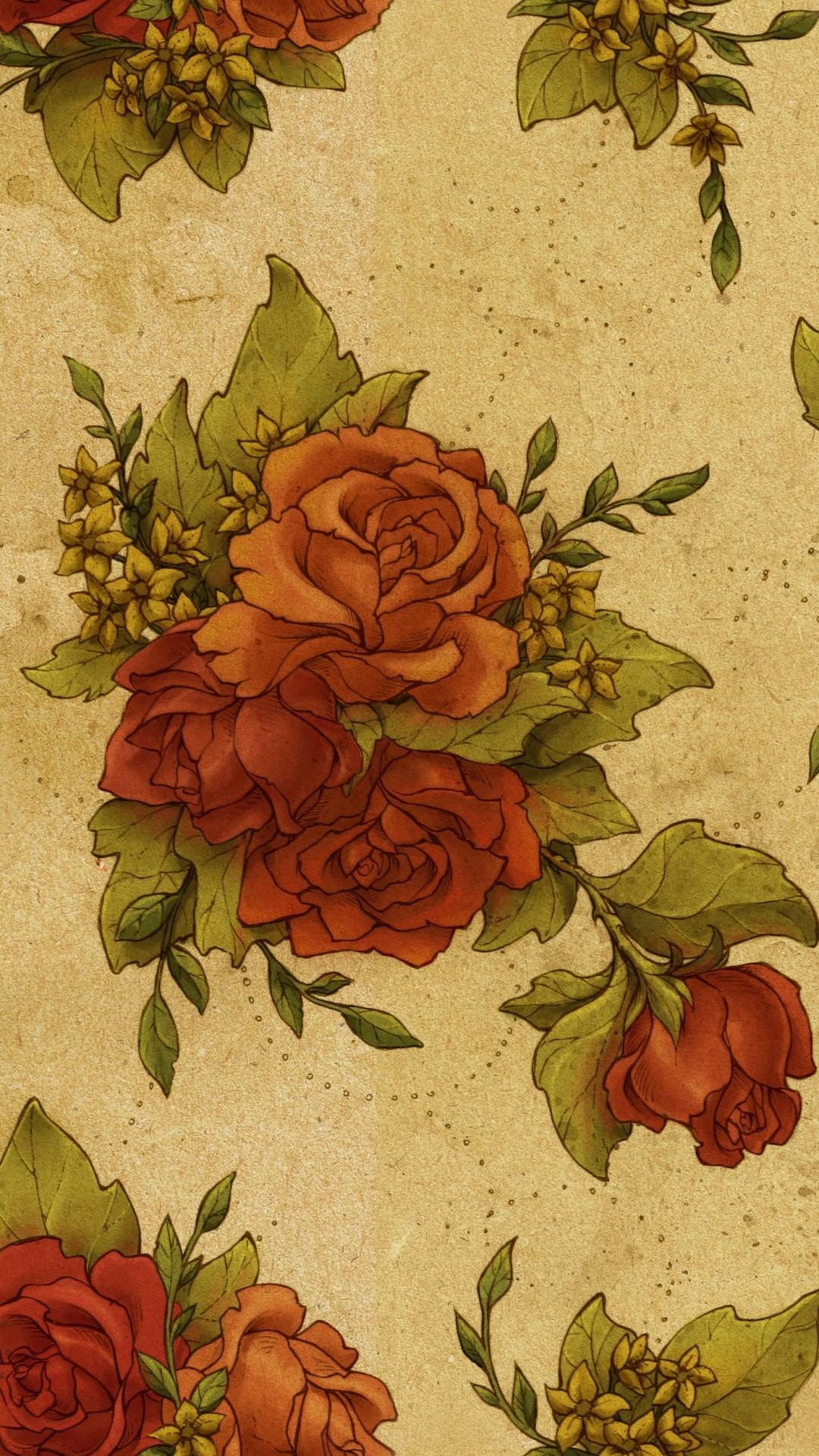 Retro wallpaper for iPhone