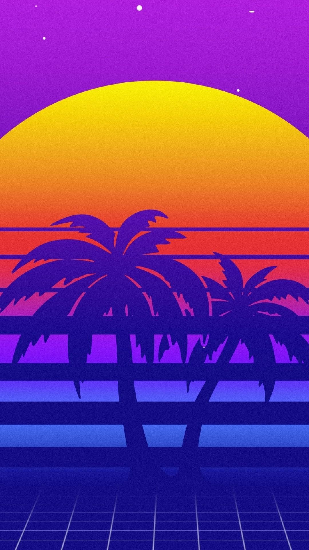 Retro iPhone 6 wallpaper