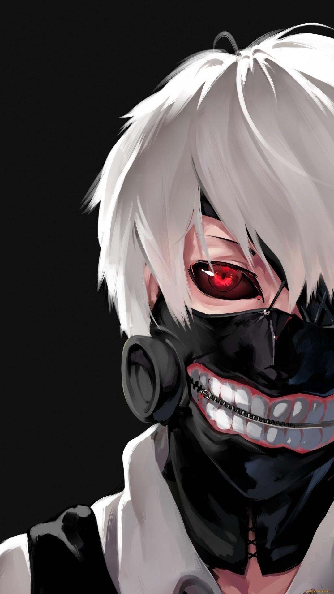 Tokyo Ghoul iPhone wallpaper