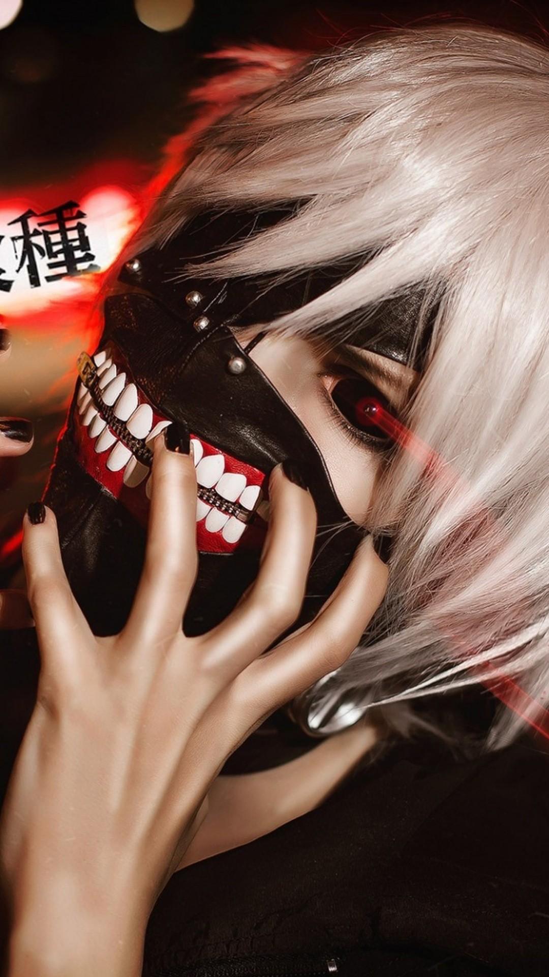 Tokyo Ghoul phone wallpaper