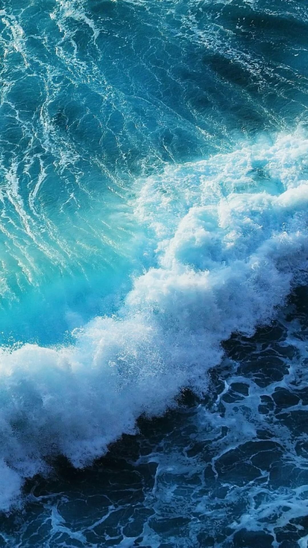 Wave hd wallpaper