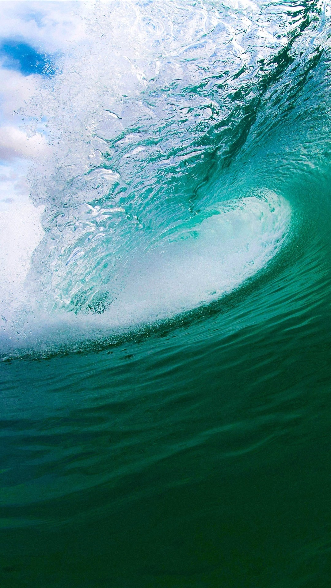Wave wallpaper for iPhone