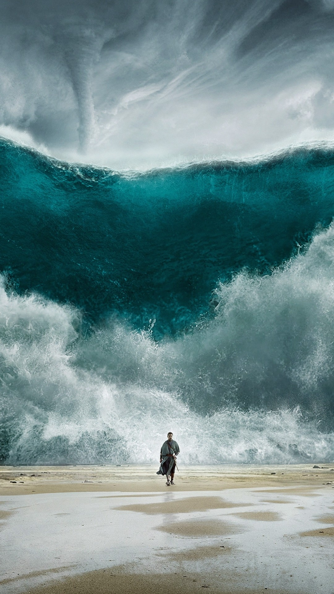 Wave phone background