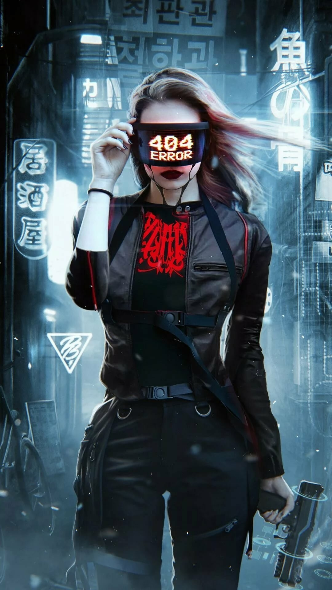 Cyberpunk iPhone hd wallpaper