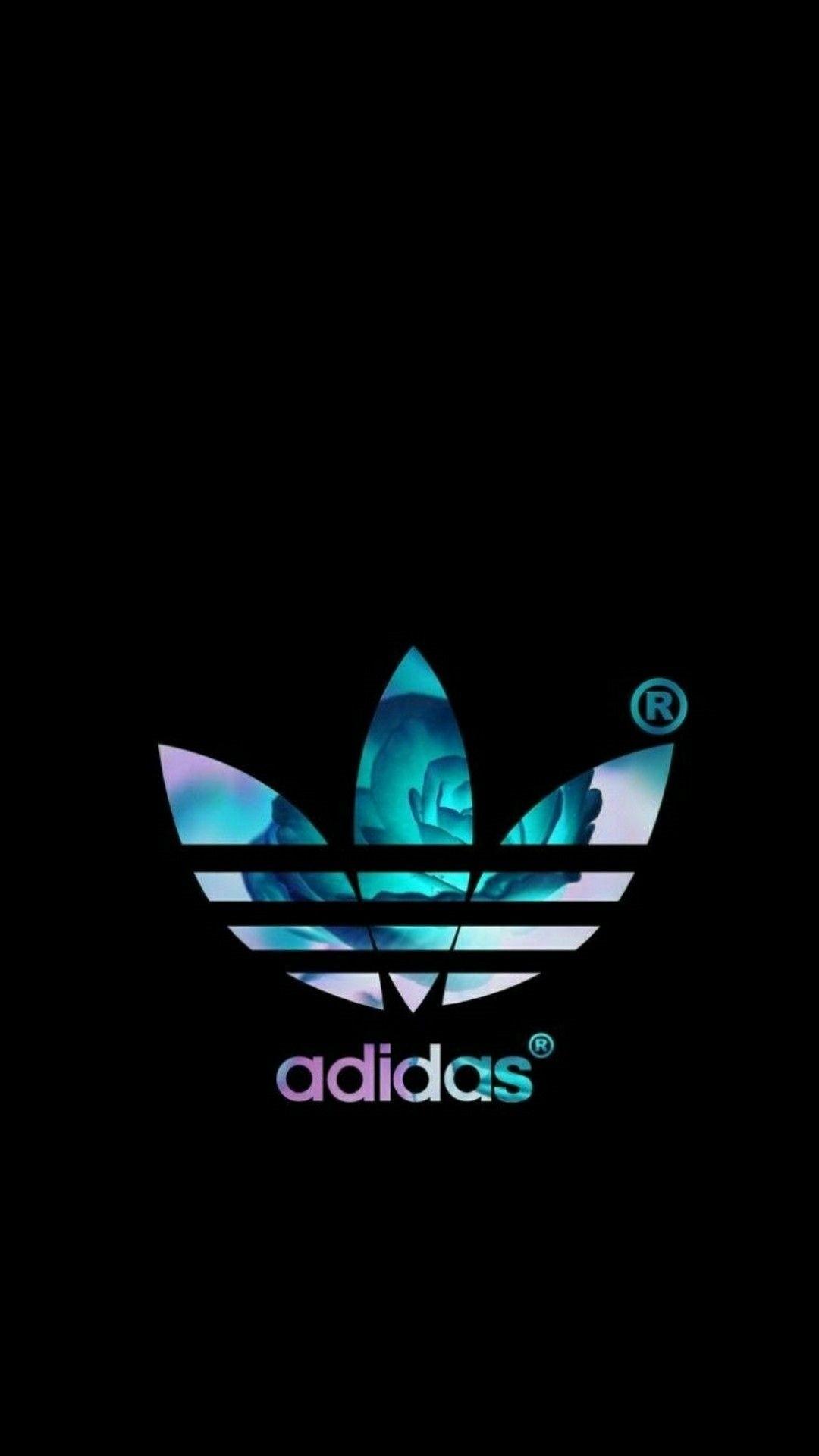 Black Adidas iPhone 5 wallpaper