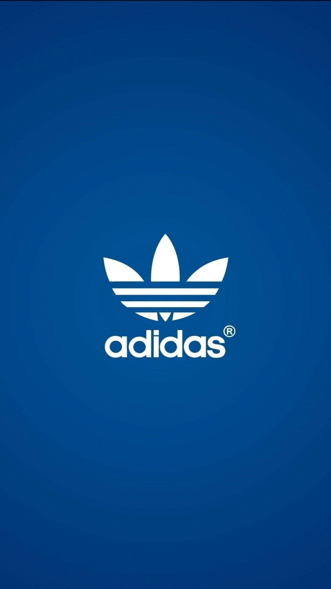 Black Adidas phone background