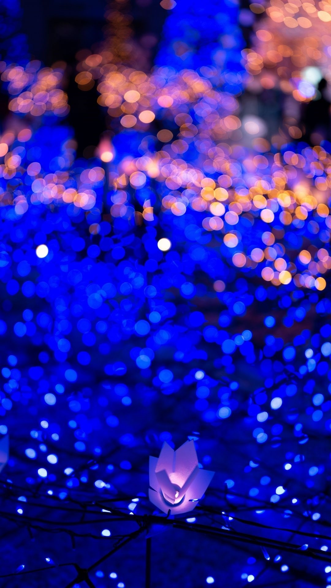 Christmas Lights wallpaper for iPhone