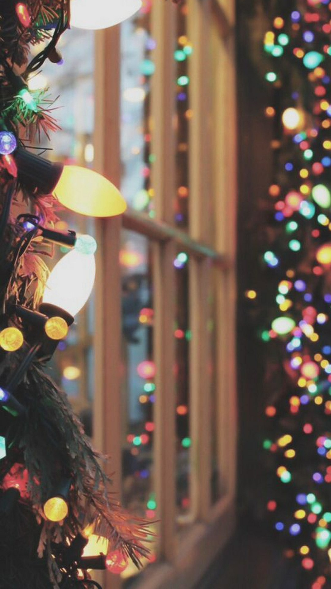 Christmas Lights wallpaper for android