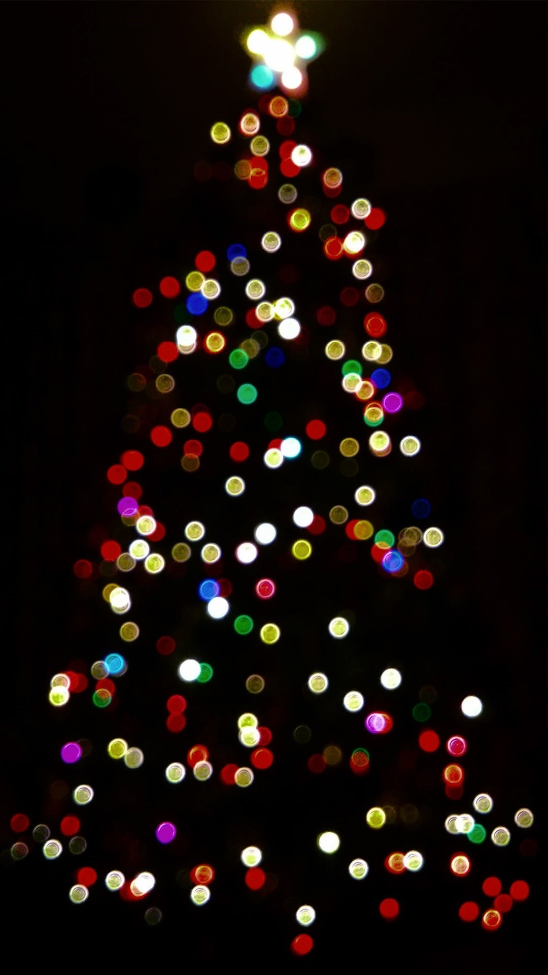 Christmas Lights iPhone 7 wallpaper