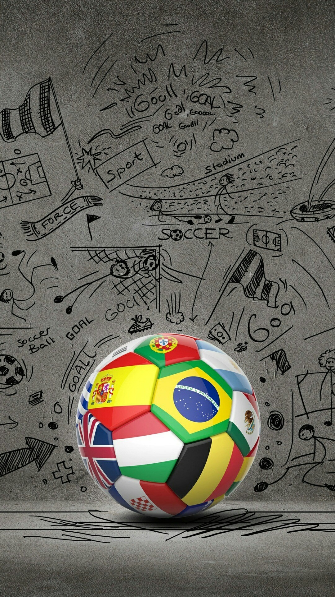 Cool Soccer Iphone Wallpapers 20 Images Wallpaperboat