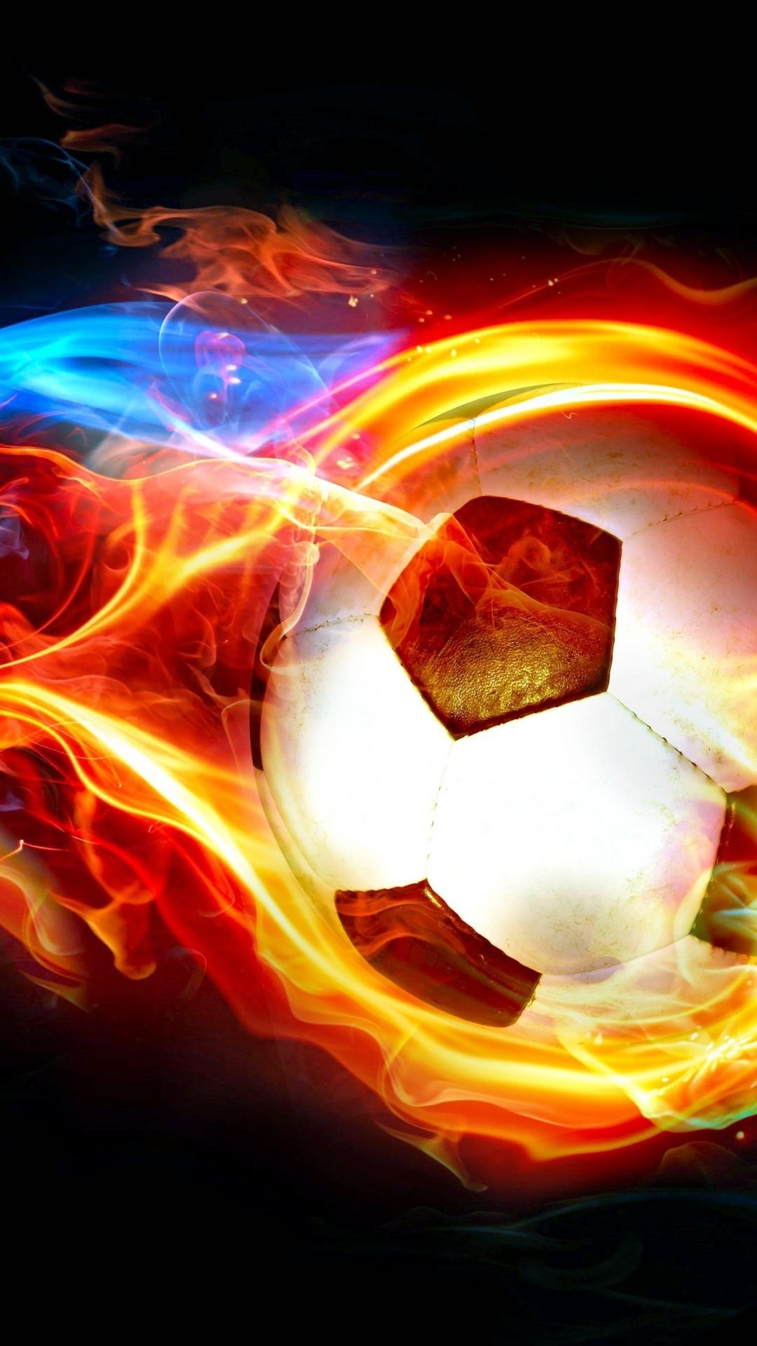 Cool Soccer iPhone hd wallpaper