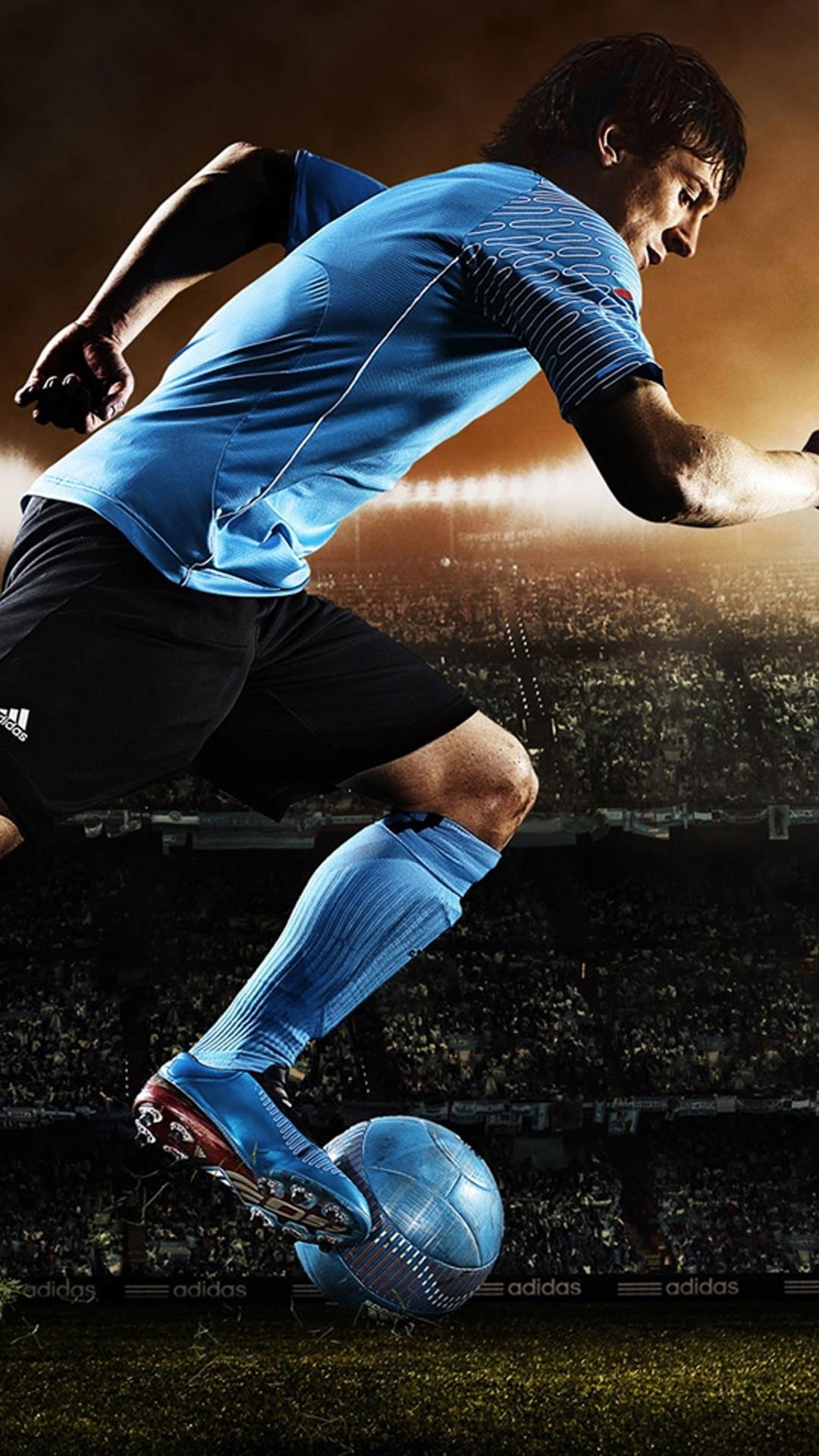 Cool Soccer iPhone 5 wallpaper