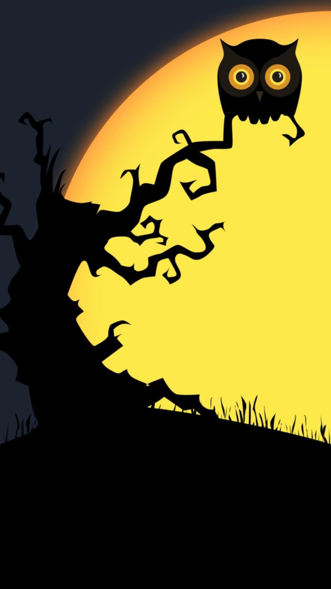 Cute Halloween iPhone 5 wallpaper